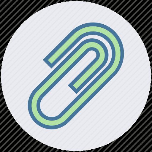 attach, attachment, board clip, clip, paper clip icon