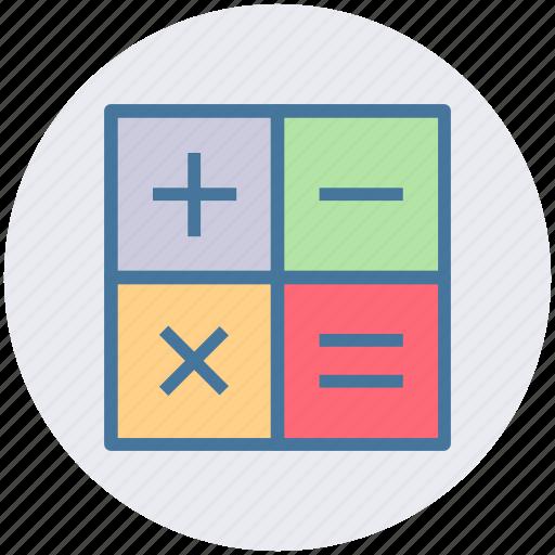 calc, calculate, calculator, math, mathematics icon