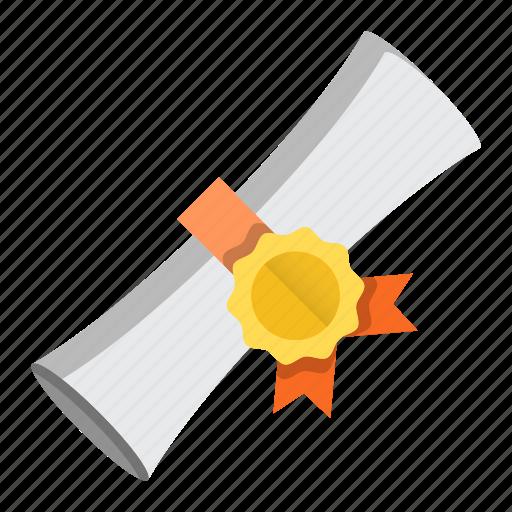degree, diploma, education, graduation icon