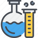 chemistry, education, experiment, laboratory, science, study icon