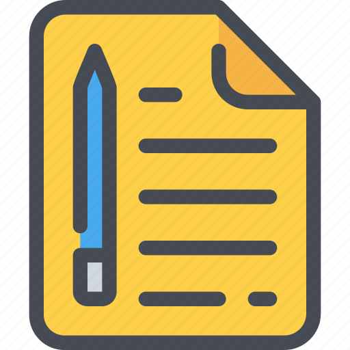 Document, extension, file, format, paper icon - Download on Iconfinder
