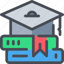 education, knowledge, learning, school, student, study icon