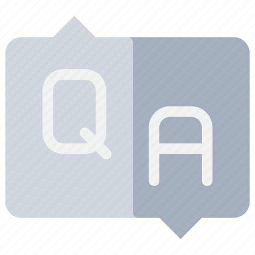 answer, help, info, information, question, support icon