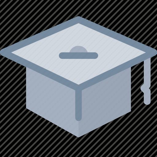 cap, diploma, education, graduate, graduation icon