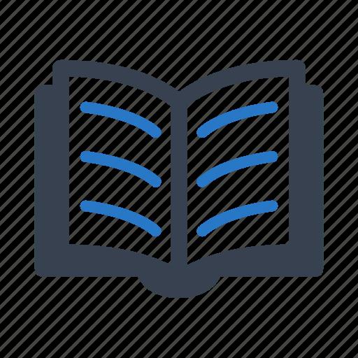 book, open book, reading icon