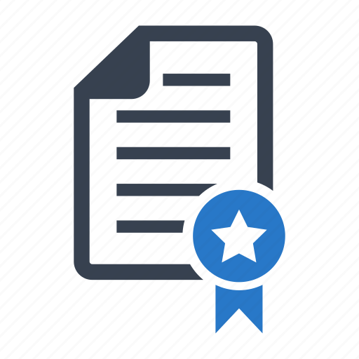 Achievement, award, certificate, diploma icon - Download on Iconfinder
