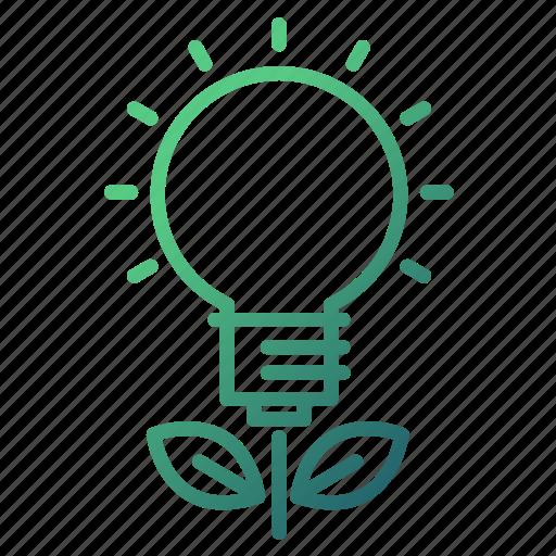 bulb, education, growth, idea, knowledge icon