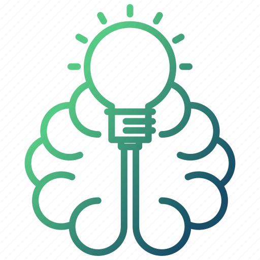 brain, education, idea, knowledge, learning, mind icon