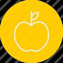 apple, education, literature, school, university icon