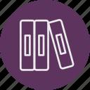education, library, literature, school, university icon