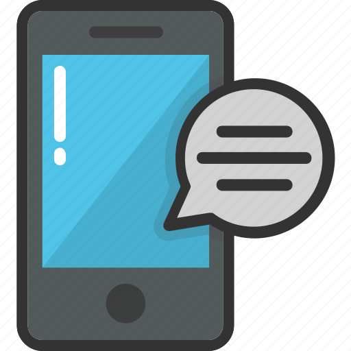 chat bubble, chatting, message, mobile, sms icon