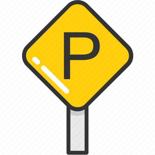 parking, parking sign, road sign, traffic, transport icon