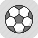 ball, football, soccer, sport, sports ball icon