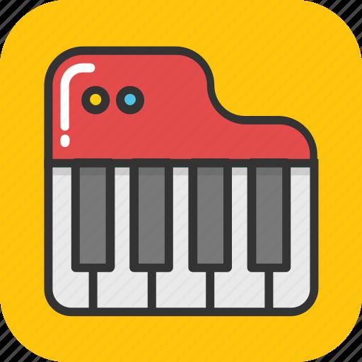 instrument, multimedia, music, piano, piano keyboard icon