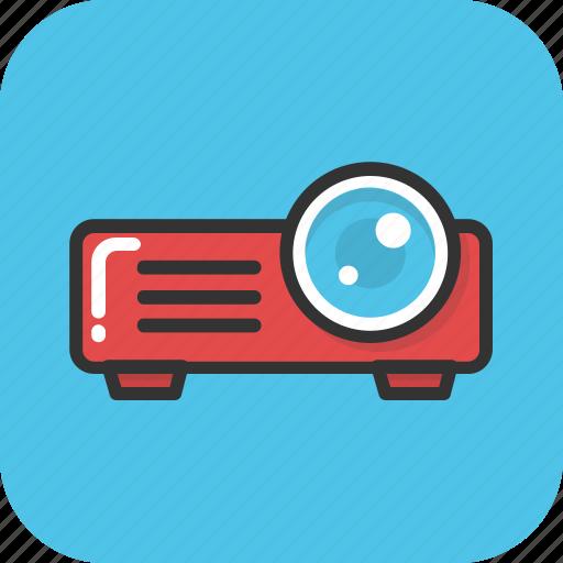 cinema, electronics, movie projector, multimedia, projector icon