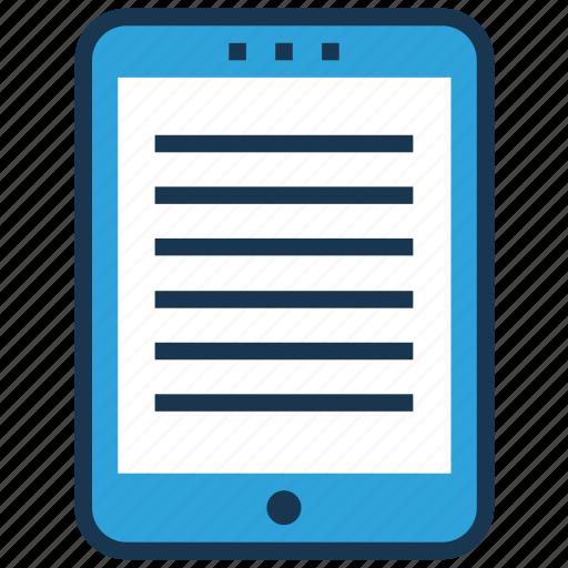 ebook, edocs, education apps, education technology, elearning icon