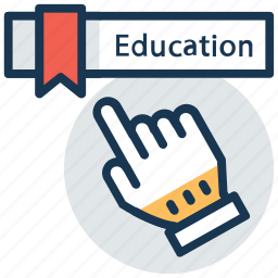 distance learning, education technology, elearning, modern studies, virtual education icon