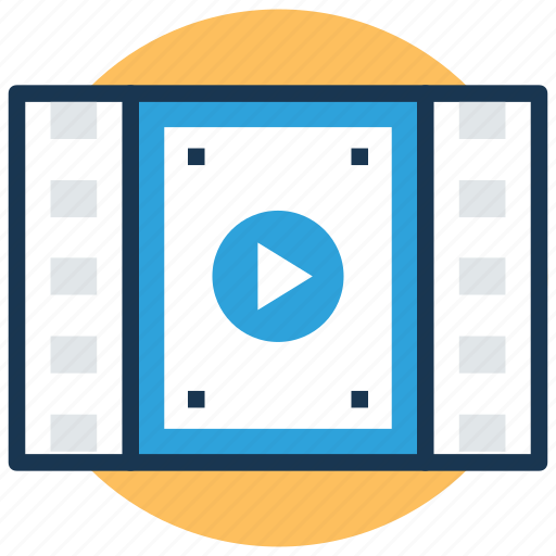 modern studies, online study, video lecture, video lesson, video tutorial icon