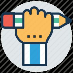 creativity, drawing, pencil, stationery, write icon