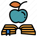 book, education, instruction, learning, study icon