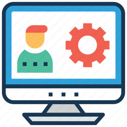 live webinar, online training, video lecture, video lesson, video tutorial icon