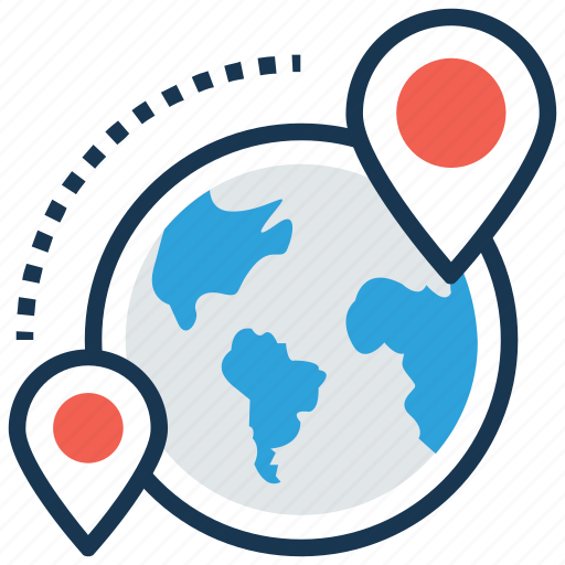global location, location pin, map navigation, map positioning, placeholder icon