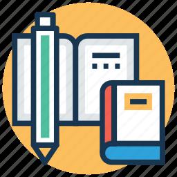 book, education, encyclopedia, knowledge, literature icon