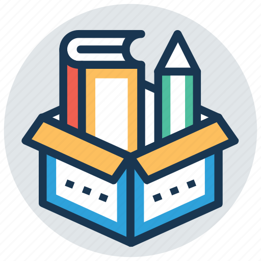 book, encyclopedia, learning material, literature, teaching material icon