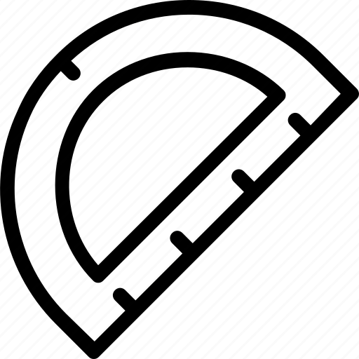 math set square tool icon
