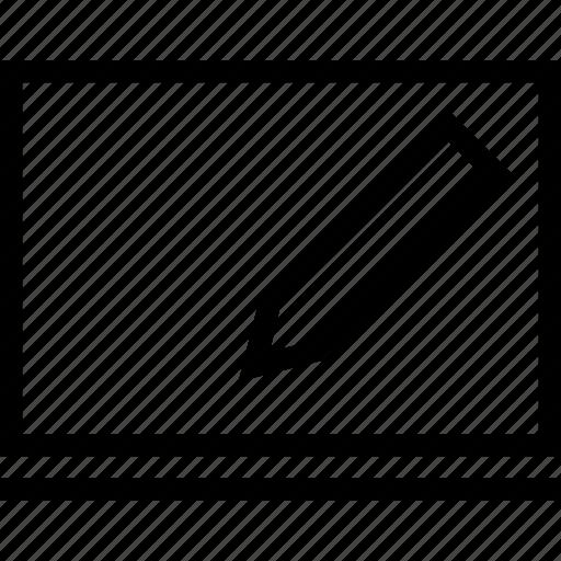 board, pen, pencil, write icon