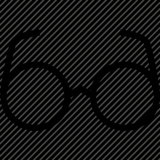 bifocals, eye, frames, glasses icon
