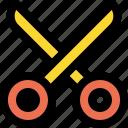 construction, cut, design, equipment, scissor, scissors, tool icon