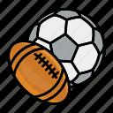 american, ball, balls, football, game, sport, sports icon