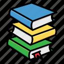 books, education, library, read, streamline, study icon