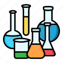 chemical, chemistry, flask, lab, science, test, tube