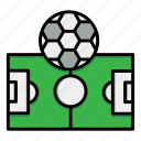 field, football, game, ground, playground, soccer, sport icon