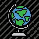 education, geography, globe, office, school, world