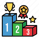 champion, pedestal, podium, rank, score, stage, winners