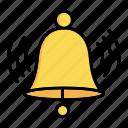 alarm, bell, ring, school, education