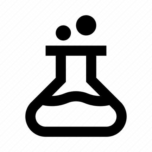 chemical, chemistry, conical flask, experiment, flask, lab, laboratory icon