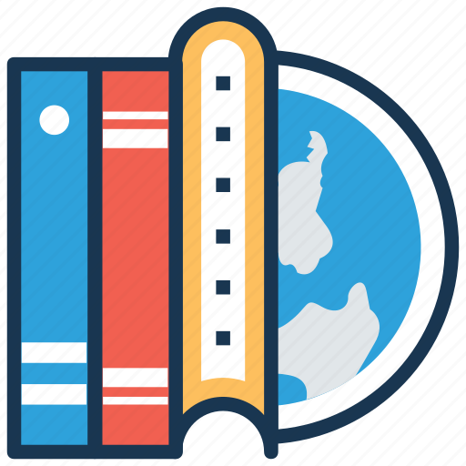 distance education, elearning, global education, international education, worldwide education icon