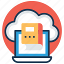 cloud education, ebook, education technology, icloud book, sky docs icon