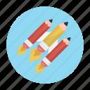 education, pen, pencil, school, write icon