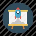 board, classroom, education, school, startup icon