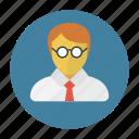 avatar, boy, education, school, student icon