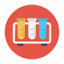 education, lab, science, test, tube icon