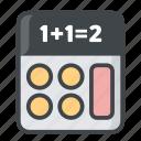 calculator, education, math, school, science icon