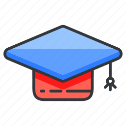 college, education, graduate, graduation, university icon