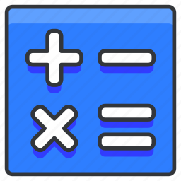 calculate, calculations, education, math, mathematics icon