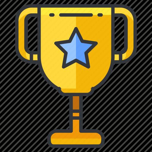 education, reward, star, trophy icon
